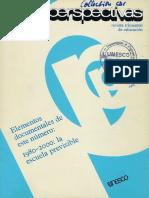 Revista Perspectivas de la Unesco