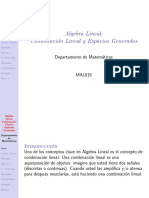 Ma3002 Combinacion Lineal