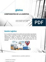 Componentes de La Gestion Logistica