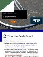 Dinamika - 2 Kinematika Benda Tegar II