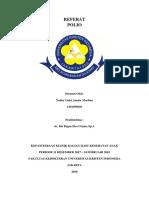 Cover, Kata Penganter Dan Daftar Isi Referat Dbd (Dwi Astuti)