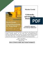 Gebrauchsanweisung für Deutschland- 1999