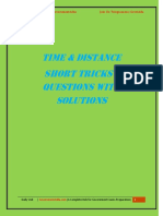 Time Distance PDF by Governmentadda.com
