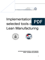Implementation Selected Tools of Lean Manufacturing