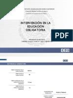 Intervencion en La Educacion Obligatoria