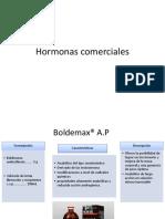 Hormonas Comerciales