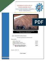 Informe Geologia Estructural Barrientos