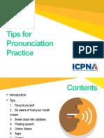 Tips for Pronunciation Practice - Copia