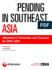 EMarketer Ad Spending in Southeast Asia-eMarketers Estimates and Forecast for 20162021