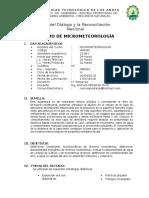 Micrometeorología Latest