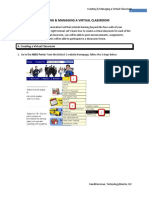 Creating-Managing Virtual Classroom