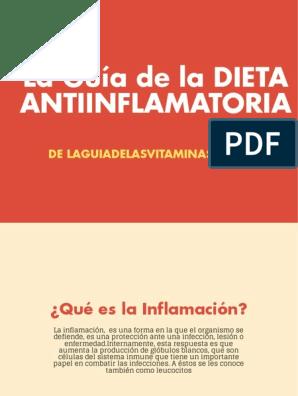 dieta analgésica y antiinflamatoria pdf