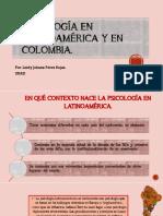 Psicología en Latinoamérica y en Colombia POR LEIDY PEREZ ROJAS UNAD