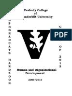 2009 HOD Handbook