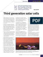 Third Generation Solar Cells