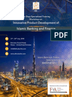 Innovative Product Development of Islamic Banking & Finance training