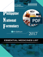 Phil Natl Formulary [2017]