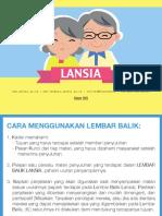 9. Lembar Balik Kesehatan Lansia