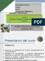 Sesión 1 Diplomado USMP Procedimientos Tributarios