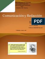 Comunicacion y Redaccion Arqui. t.m.