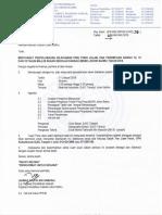 Surat Mesyuarat Penyelarasan Ping Pong LP B12 B15 B18