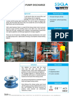 Check Valves for Pump Discharge