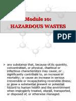 10 Hazardous Wastes