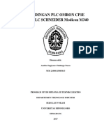Perbandingan Plc Omron Cp1e Dengan Plc Schneider Modicon m340