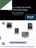 1. Objetivos y Campo de Acción de La Neuropsicología