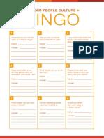 04. Bingo Sheet