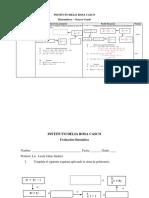 Modelo de Prueba Octavo - Suma y Resta de Polinomios