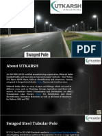 Utkarsh India Limited | Best Swaged Pole Manufacturer in India