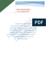 Modificación RD Prescripción Enfermera