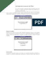 Linea del tiempo de la evolucion de Office.docx