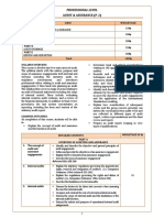 Audit & Assurance ICMAP Syllabus