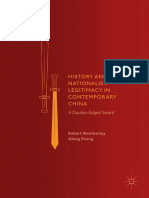 History and Nationalist Legitimacy in Contemporary China - A Double-Edged Sword