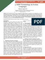 Translating Aids Terminology in Ivorian Languages