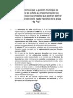 Sobre la participación del DEM en la FdP
