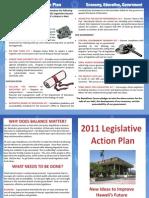 GOP Hawaii 2011 Legislative Action Plan