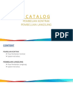 ECatalog Contract Purchase