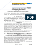 Analyzing the Dietary Supplement Health and Education Act and other related regulation relevant FDA approval.