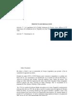 """Resolución -  adhesión al 50º Aniversario de la fundación de la """"República de San Telmo"""""""