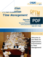 e7 Organization Prioritization Time Management