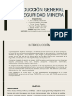 Introduccion a La Seguridad Minera