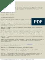 Ley-24452 Cheques - Titulos de Creditos