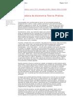 A falácia da dicotomia Teoria-Prática