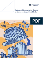 La Fine Del QE in Europa e Impatti SullI'talia