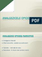 Curs 3 Terapia Durerii Opioizi