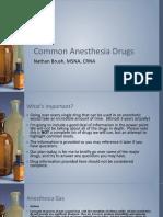 CommonAnesthesiaDrugs-NathanBrushCRNA