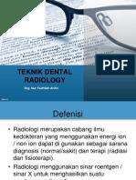 Teknik Dental Radiologi